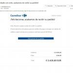 Email fraudulento suplantando a Carrefour